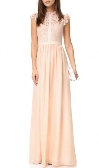Vestido Rosa Claro Renda Longo