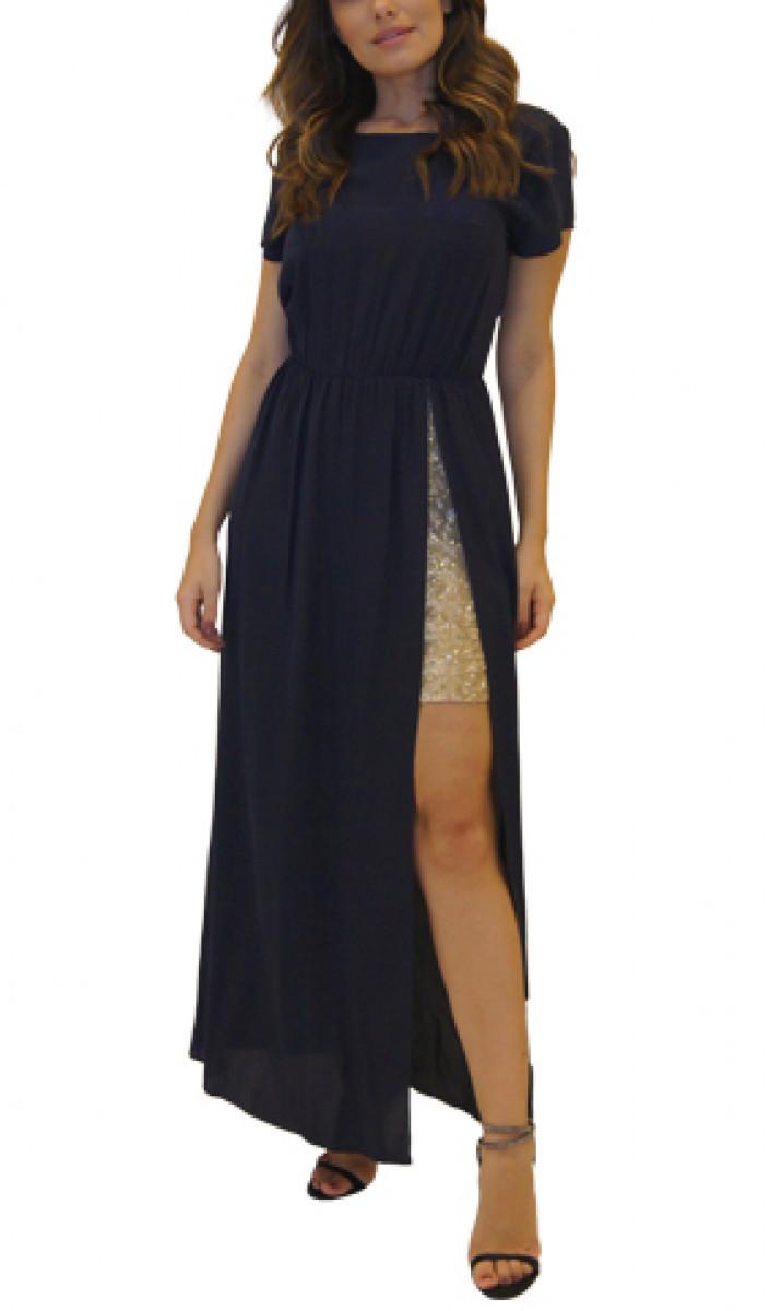 Vestido Azul Marinho