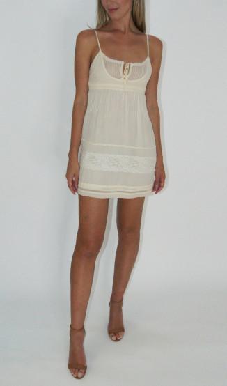 Vestido Soltinho Off White