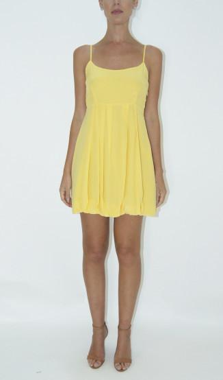 Vestido Amarelo Alcinha