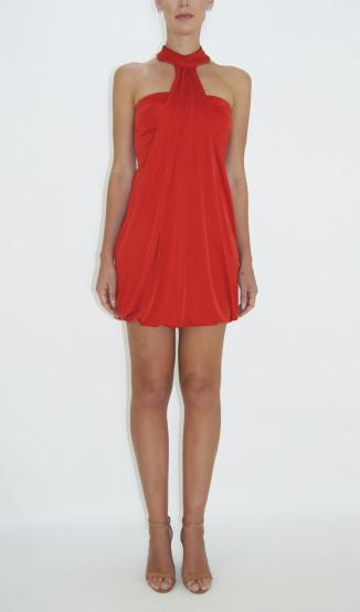 Vestido Frente Única Vermelho