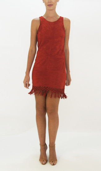Kelly Piquet Vestido de Chamois