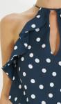 Kelly Piquet Vestido de Poá
