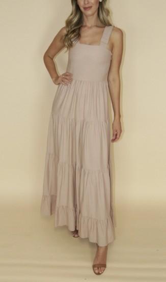Vestido Rosê de Linho