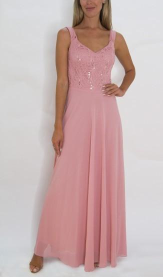 Vestido Fluído Rosa