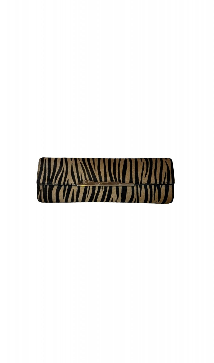 Clutch Cartier animal print
