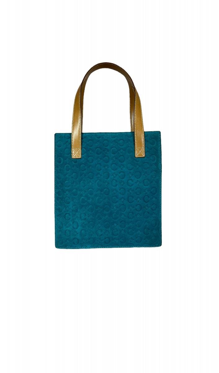 Bolsa Celine azul turquesa