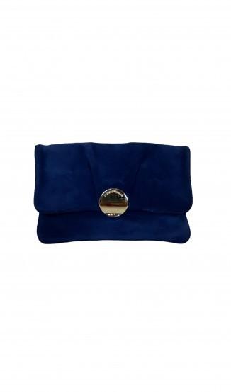 Clutch Azul Marinho Armani