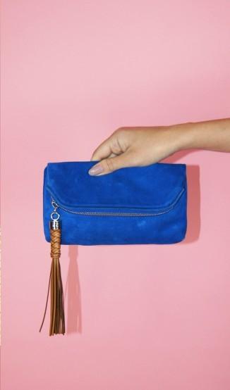 Clutch Azul Ralph Lauren
