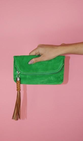Clutch Verde Ralph Lauren